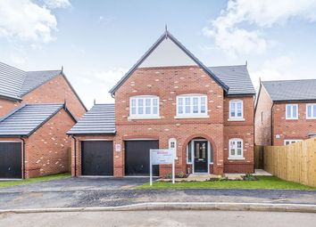 Thumbnail 5 bed detached house for sale in Manor Lane, Holmes Chapel, Crewe