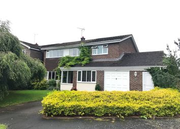Thumbnail 4 bed detached house for sale in Park Crescent, Doveridge, Ashbourne