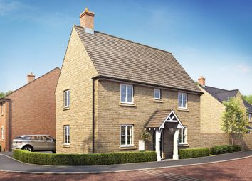 "Thumbnail 3 bed detached house for sale in ""Hadley"" at Field Close, Longworth, Abingdon"