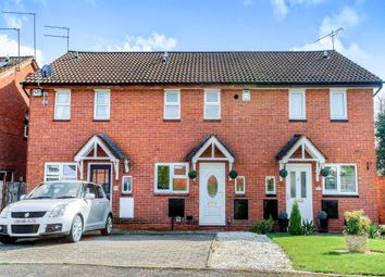 Thumbnail 2 bedroom terraced house for sale in Tidbury Close, Walkwood, Redditch