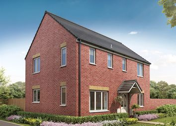 """Thumbnail 3 bedroom detached house for sale in """"The Clayton Corner  """" at Ixworth Road, Thurston, Bury St. Edmunds"""