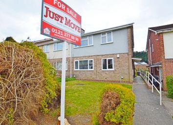Thumbnail 2 bed maisonette for sale in Ivyfield Road, Erdington, Birmingham
