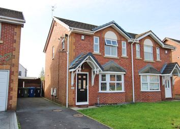 Thumbnail 3 bed semi-detached house for sale in Cliftonmill Meadows, Golborne, Warrington
