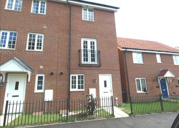 Thumbnail 3 bed end terrace house to rent in Dragonfly Lane, Cringleford, Norwich