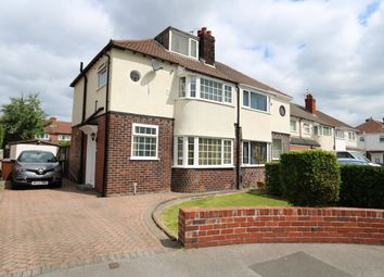 Thumbnail 3 bed semi-detached house for sale in Villdale Avenue, Offerton, Stockport