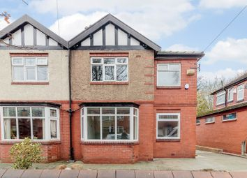 Thumbnail 3 bed semi-detached house for sale in Mount Road, Manchester