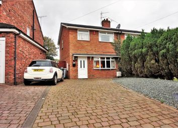 Thumbnail 3 bed semi-detached house for sale in Portland Grove, Crewe