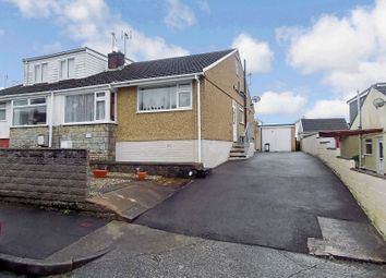 Thumbnail 3 bed semi-detached bungalow for sale in Manor Park, Pencoed, Bridgend.