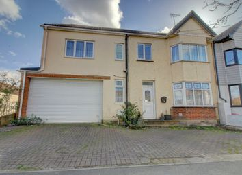Thumbnail 5 bed semi-detached house for sale in Bruce Grove, Wickford