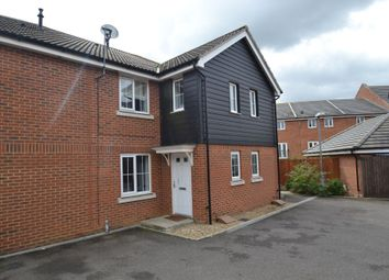 Thumbnail 2 bed terraced house to rent in Guillemot Close, Stowmarket, Suffolk