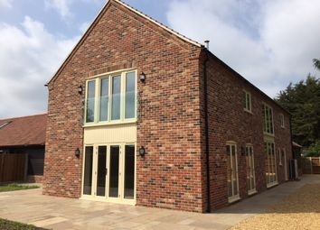 Thumbnail 4 bed barn conversion for sale in Chapel Road, Pott Row, King's Lynn