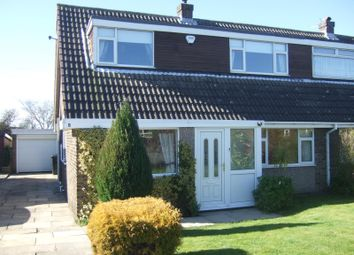 Thumbnail 3 bed semi-detached house for sale in Ashbourne Crescent, Garforth, Leeds