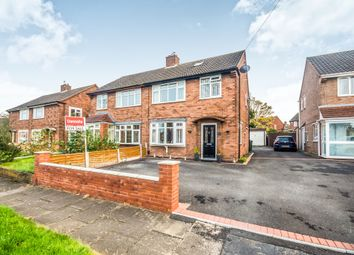 Thumbnail 3 bed semi-detached house for sale in Norfolk Drive, Wednesbury