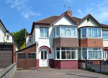 Thumbnail 3 bedroom semi-detached house for sale in Chelston Road, Northfield, Birmingham