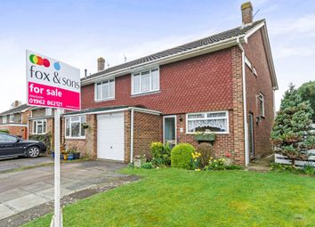 Thumbnail 3 bed semi-detached house for sale in Southwick Close, Winchester