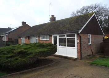 Thumbnail 2 bedroom detached bungalow for sale in Springfield Road, Bexhill-On-Sea