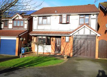 Thumbnail 4 bed detached house for sale in Saddler Avenue, Stone