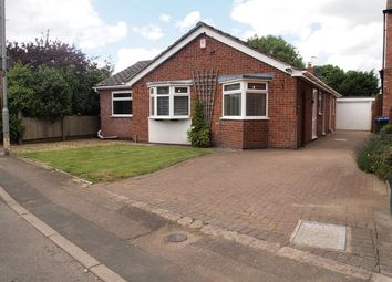 Thumbnail 3 bed detached bungalow for sale in Fleckney Road, Kibworth, Leicester
