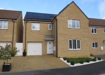 Thumbnail 4 bed detached house for sale in Jupiter Avenue, Cardea, Peterborough