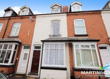 Thumbnail 3 bed terraced house for sale in Dasiy Road, Edgbaston, Birmingham