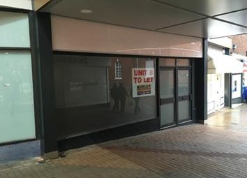 Thumbnail Retail premises to let in Unit 8 Middle Entry Shopping Centre, Tamworth