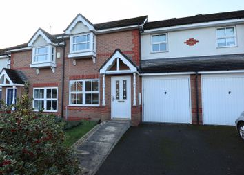 Thumbnail 3 bed terraced house for sale in Lower Meadow Drive, Congleton