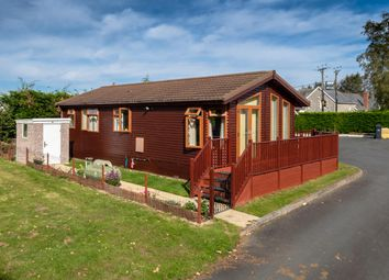Thumbnail 2 bed mobile/park home for sale in Cilmery, Builth Wells