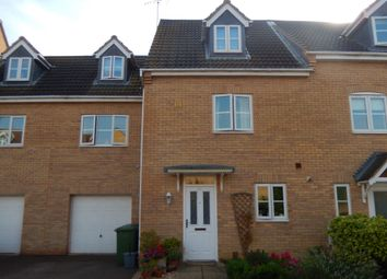 Thumbnail 4 bed terraced house for sale in East Of England Way, Orton Northgate, Peterborough