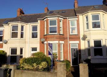 Thumbnail 3 bed terraced house for sale in Ryll Grove, Exmouth, Devon