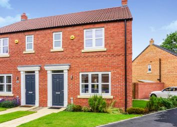Thumbnail 3 bed semi-detached house for sale in The Hedgerows, Eggborough