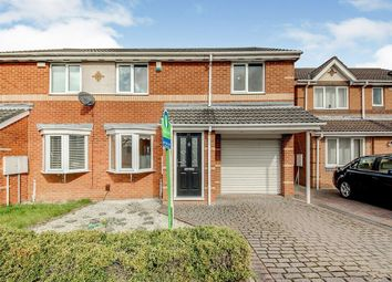 Thumbnail 3 bed semi-detached house to rent in Woodlands Grange, Forest Hall, Newcastle Upon Tyne
