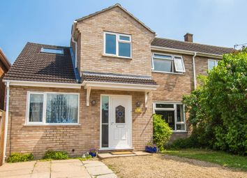 Thumbnail 5 bed semi-detached house for sale in Glenacre Close, Cherry Hinton, Cambridge