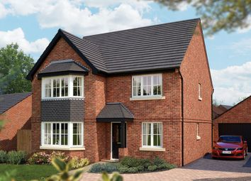 "Thumbnail 5 bed detached house for sale in ""The Oxford  v2"" at Burton Road, Streethay, Lichfield"