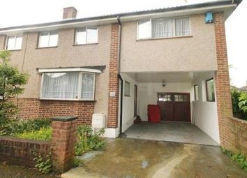 Thumbnail 4 bed semi-detached house to rent in Vernon Avenue, Enfield