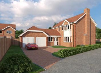 Thumbnail 4 bedroom detached house for sale in Alltami Heath, Alltami Road, Buckley