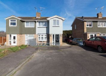 Thumbnail 3 bed semi-detached house for sale in Nautilus Close, Minster On Sea, Sheerness