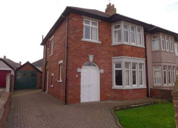 Thumbnail 3 bed semi-detached house for sale in Glenmere Crescent, Thornton-Cleveleys