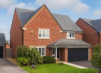 Thumbnail 4 bed detached house for sale in Plot 71, Wepre Green, Deeside