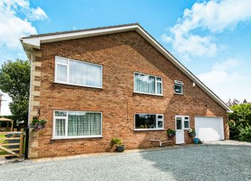 Thumbnail 4 bed detached house for sale in Church Road, Freiston, Boston