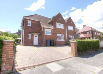 Thumbnail 4 bed semi-detached house for sale in Dilston Drive, Westerhope, Newcastle Upon Tyne
