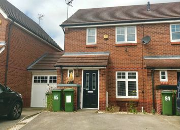Thumbnail 2 bed end terrace house to rent in Packhorse Drive, Enderby, Leicester