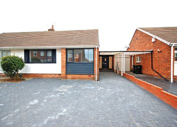 Thumbnail 2 bed semi-detached bungalow for sale in Shaftesbury Crescent, North Shields