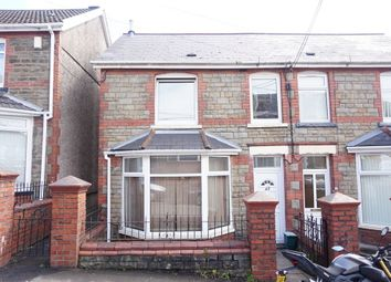 Thumbnail 3 bed semi-detached house for sale in Ashfield Road, Newbridge, Newport, Caerphilly