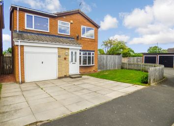 Thumbnail 4 bed detached house for sale in Kendal Drive, Cramlington