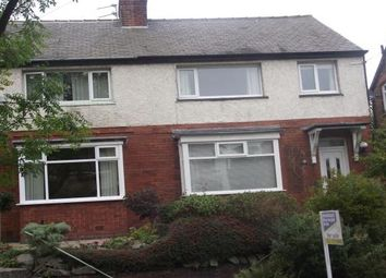 Thumbnail 3 bed semi-detached house to rent in Willow Road, Prestwich, Manchester