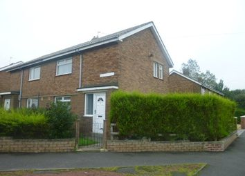 Thumbnail 2 bed semi-detached house to rent in South View, Pegswood, Morpeth