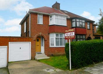 Thumbnail 3 bedroom semi-detached house to rent in Ennerdale Drive, London