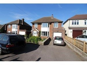 Thumbnail 4 bedroom detached house for sale in Brocket Road, Welwyn Garden City