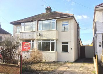 Thumbnail 3 bed semi-detached house for sale in Garfield Avenue, Litchard, Bridgend, Mid Glamorgan