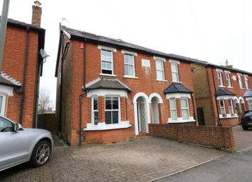 Thumbnail 4 bed semi-detached house to rent in Osborne Road, Egham